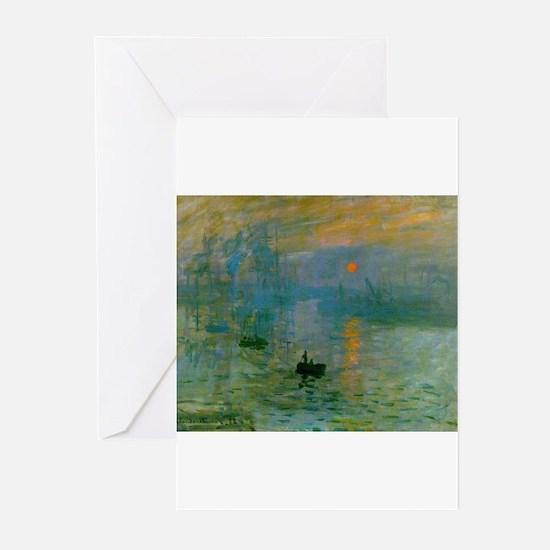 Impression, Sunrise Greeting Cards (Pk of 20)