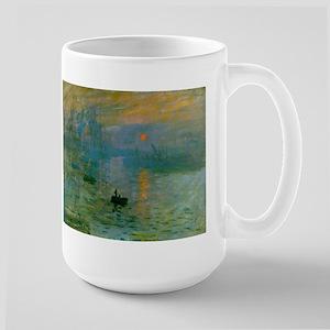 Impression, Sunrise Large Mug