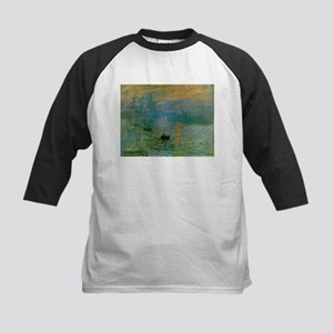 Impression, Sunrise Kids Baseball Jersey