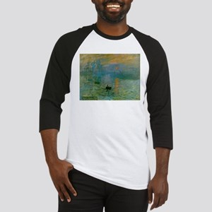 Impression, Sunrise Baseball Jersey