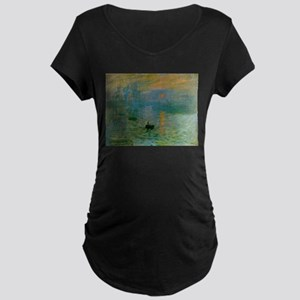 Impression, Sunrise Maternity Dark T-Shirt