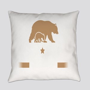 Papa Bear Est. 2016 Everyday Pillow