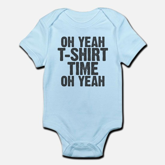 T-Shirt Time Infant Bodysuit
