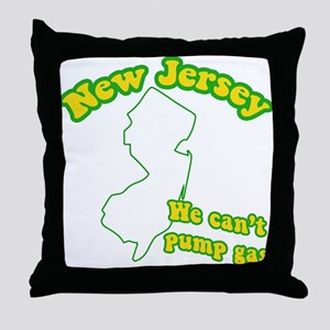 Vintage New Jersey Throw Pillow