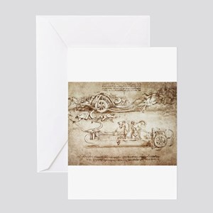 Assault Chariot with Scythes Greeting Card