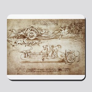 Assault Chariot with Scythes Mousepad