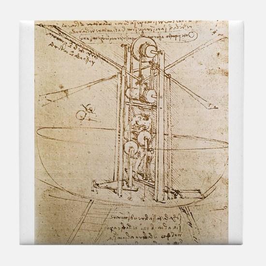Design for Flying Machine Tile Coaster
