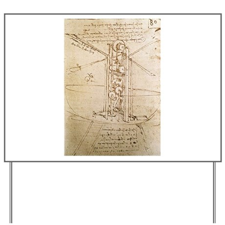 Design for Flying Machine Yard Sign