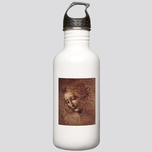 Female Head Stainless Water Bottle 1.0L
