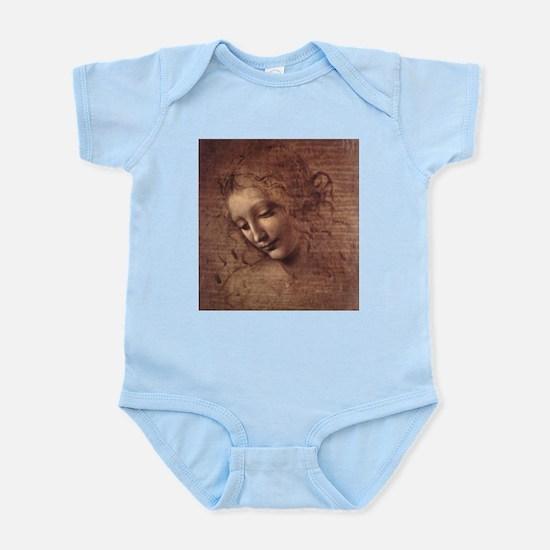 Female Head Infant Bodysuit