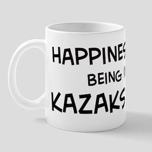 Happiness is Kazakstan Mug