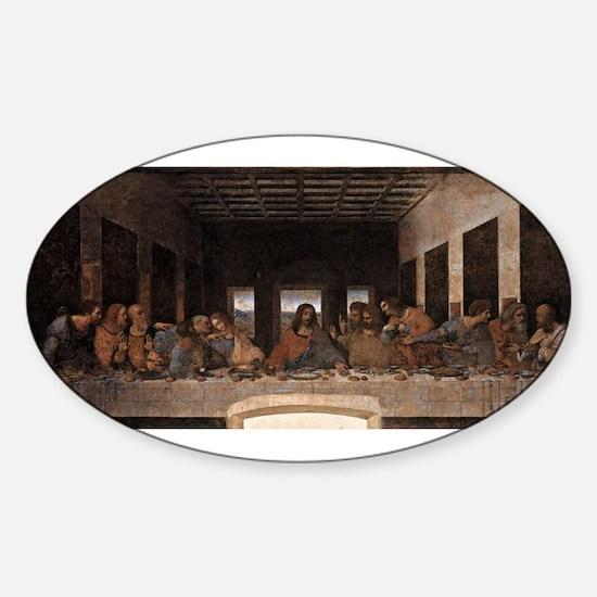 Last Supper Sticker (Oval)