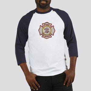 Fire Chief Maltese Baseball Jersey