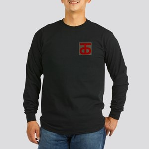 Tough 'Ombres Long Sleeve Dark T-Shirt