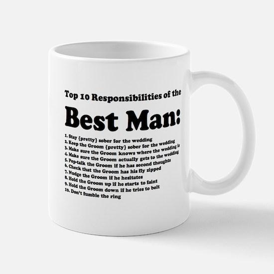 Best Man's Top Ten Mug