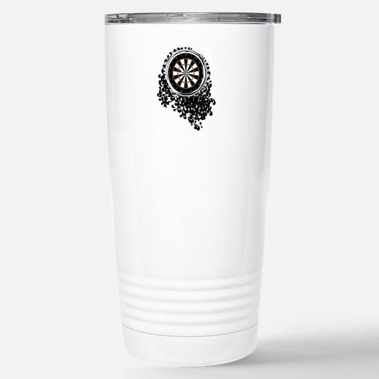 Filigree Stainless Steel Travel Mug