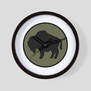 Buffalo Soldiers Wall Clock