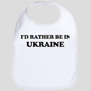Rather be in Ukraine Bib