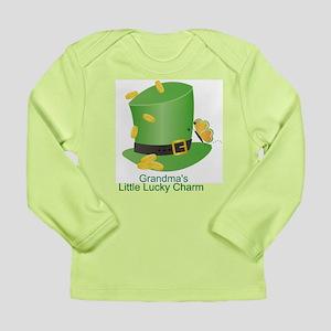 St. Patricks Day Lucky Charm/ Long Sleeve Infant T