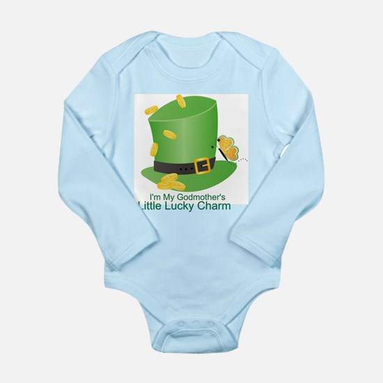 St. Patricks Day Lucky Charm/ Onesie Romper Suit