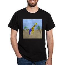 Giraffe Jeans (No Text) Dark T-Shirt