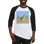 Giraffe Jeans (No Text) Baseball Jersey
