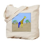 Giraffe Jeans (No Text) Tote Bag