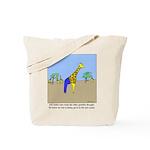 Giraffe Jeans Tote Bag