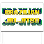 Brazilian Jiu Jitsu Yard Sign