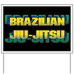 Jiu Jitsu Yard Sign