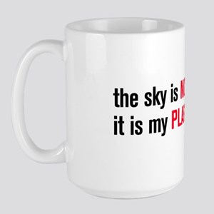 The Sky is NOT my Limit Pilot Mug (Large)