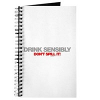 Drink Sensibly! Journal