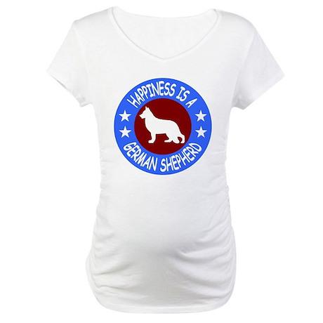 German Shepherd Dog Maternity T-Shirt