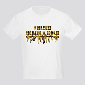 Bleed Black & Gold Kids Light T-Shirt