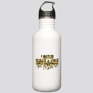 Bleed Black & Gold Stainless Water Bottle 1.0L