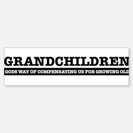 Grandchildren Sticker (Bumper)