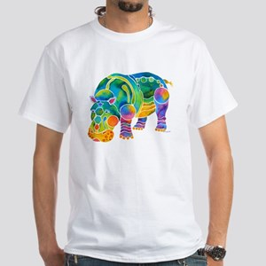 Best HIPPO in Many Colors White T-Shirt