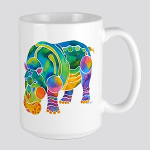 Best HIPPO in Many Colors Large Mug