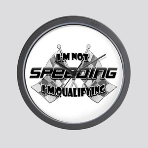 I'm Not Speeding Wall Clock