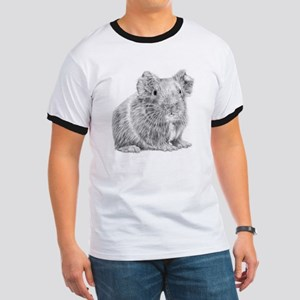 Guinea Pig/Cavy Illustration Ringer T