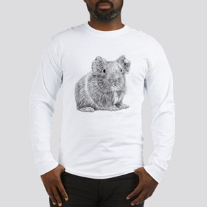 Guinea Pig/Cavy Illustration Long Sleeve T-Shirt