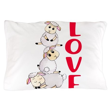 Sheep Pillow Cases CafePress