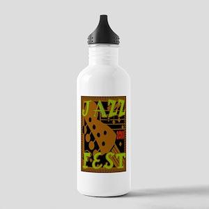 Jazz Fest 2011 Stainless Water Bottle 1.0L