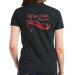 """""""Why Run Faster..."""" Women's Dark T-Shirt"""