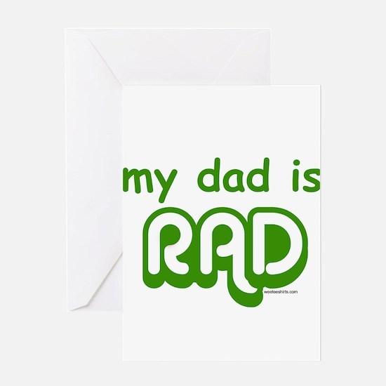 Unique Rad Greeting Card