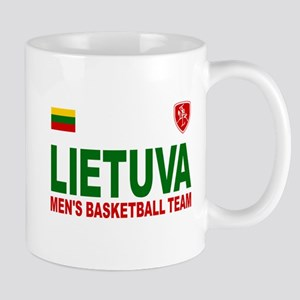 Lietuva Men's Basketball Mug