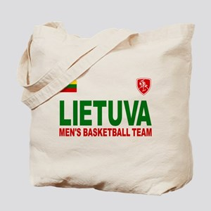 Lietuva Men's Basketball Tote Bag