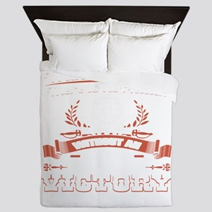 Without A Plan No Attack No Victory Queen Duvet