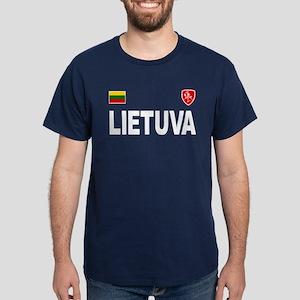 Lietuva Olympic Style Dark T-Shirt