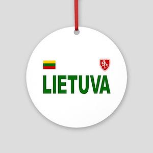 Lietuva Olympic Style Ornament (Round)